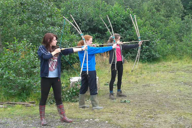 bush bow practice