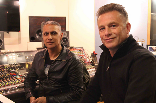 Nitin Sawhney and Chris Packham