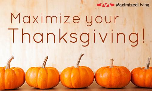 maximize thanksgiving