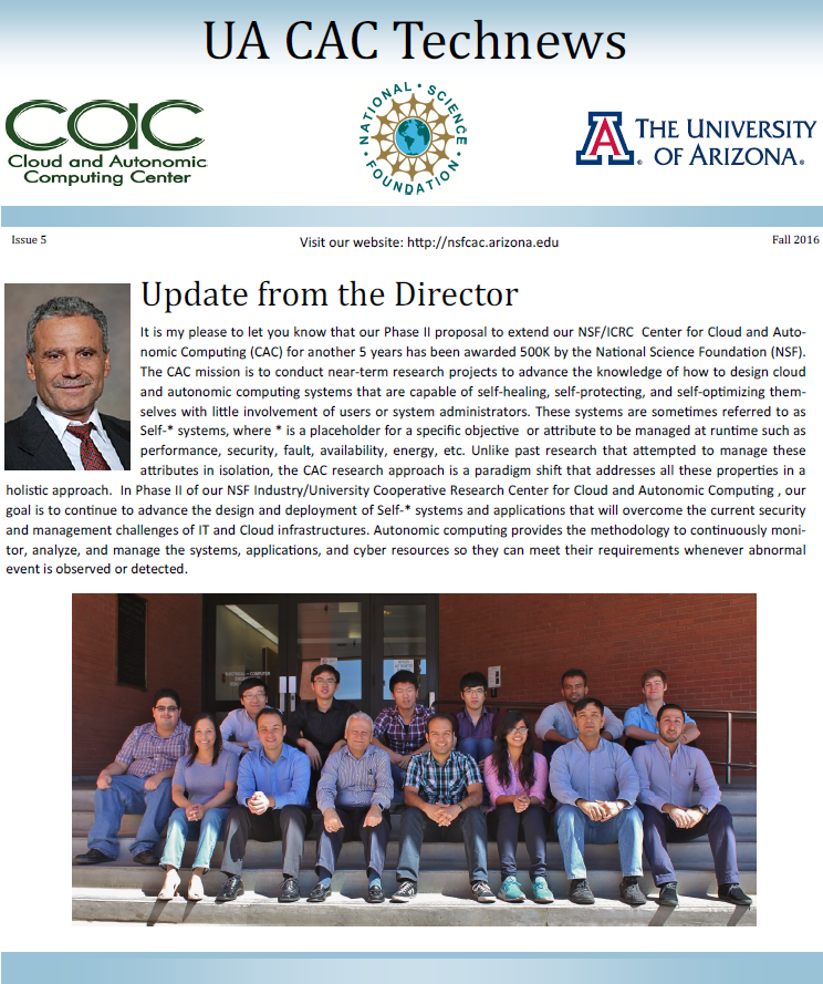UACAC Newsletter