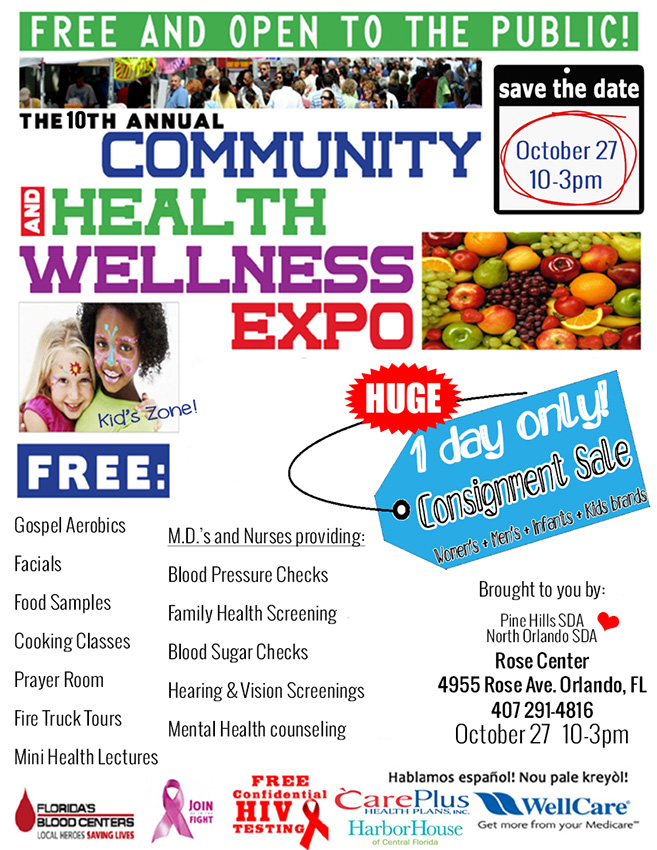 Health and Wellness Expo 2013