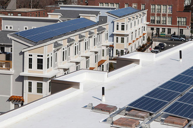 Boston Community Capital affordable housing solar project