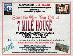 Kick off the new year at 7 Mile house January 17, 2018