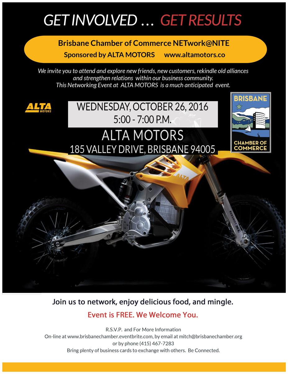 NETwork@Nte at Alta Motors - the future of fast