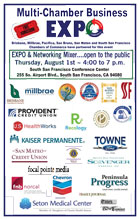 Multi-Chamber Business Expo August 1 4-7 pm