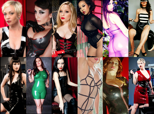 collage of 12 beautiful mistresses