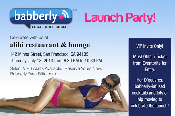 babberly launch party