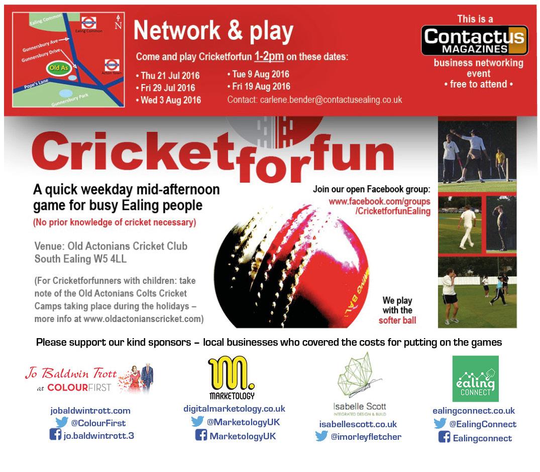 Cricketforfun flyer
