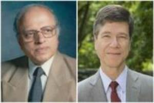 Dr Swaminathan and Dr Sachs
