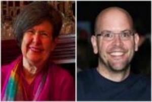 Kathy Sreedhar and Dan Morrison