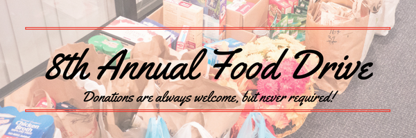 8th Annual Food Drive
