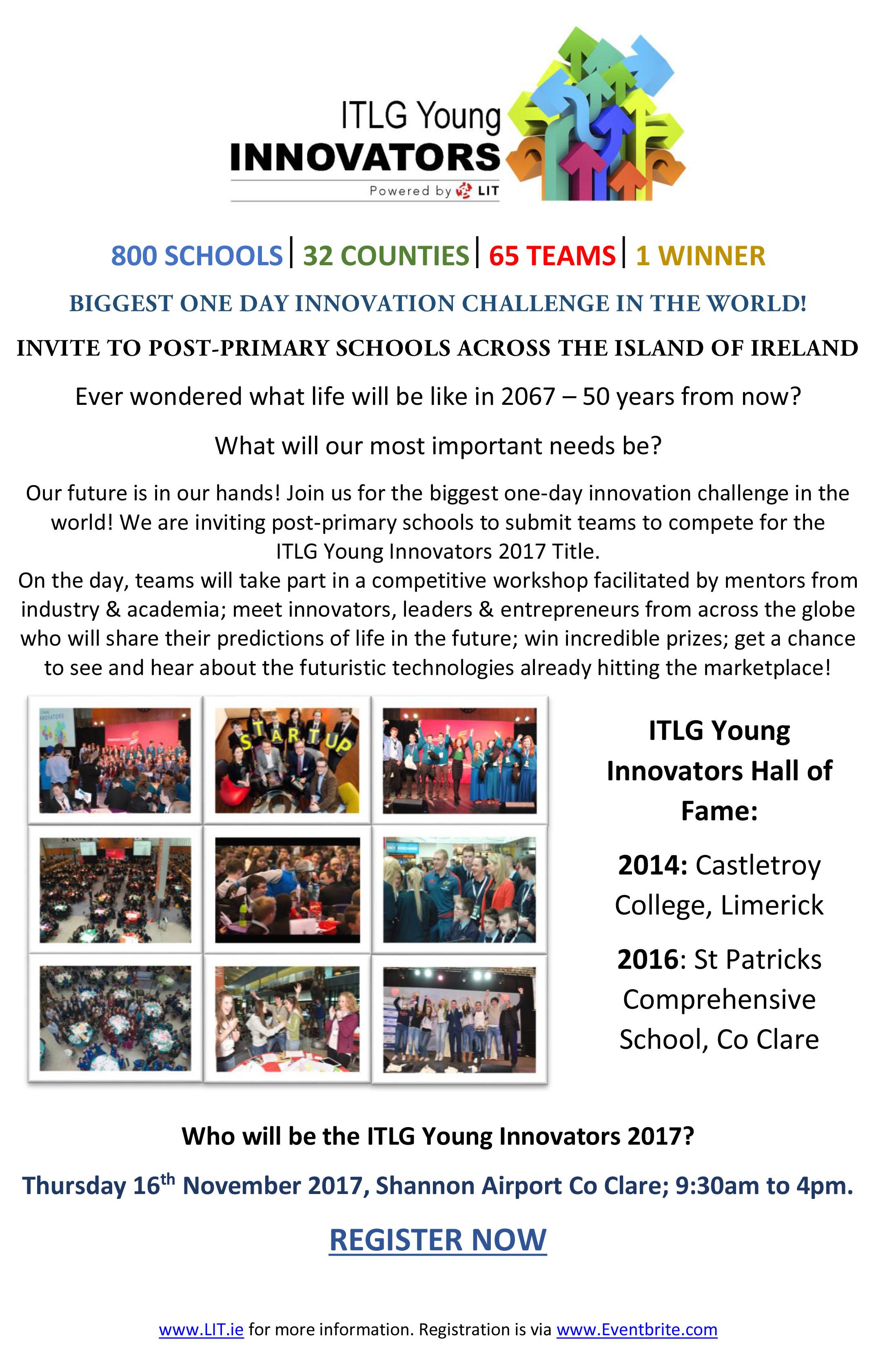 ITLG Young Innovators 2017