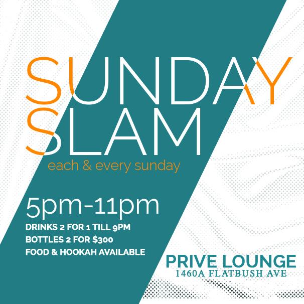 #SundaySlam #PriveLounge #Brookln #NewYork