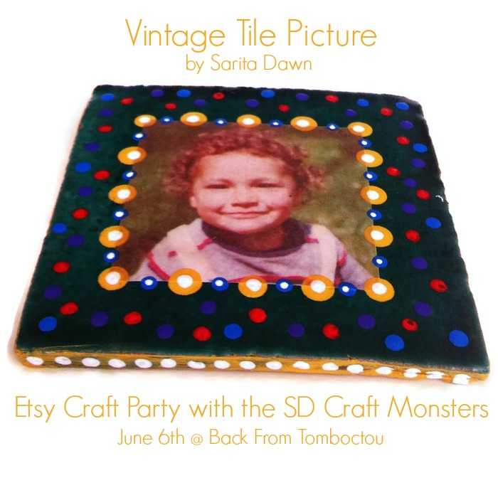 Vintage Tile Picture