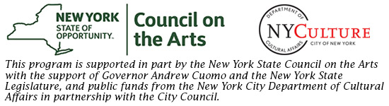 NYSCA and DCA logos