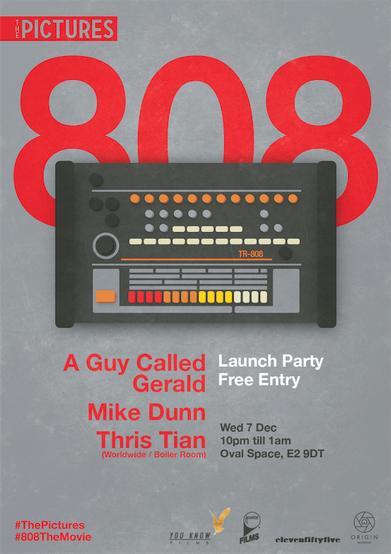 Launch Party Event Poster