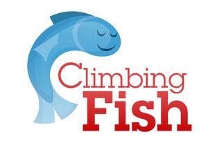 Climbing Fish logo