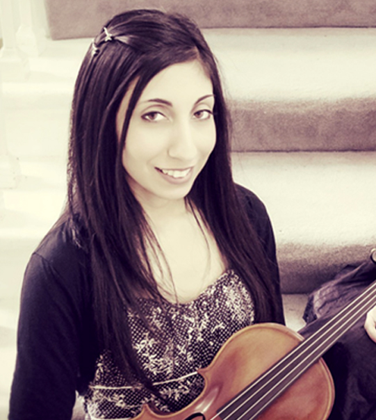 Nandita Bhatia (Violin)