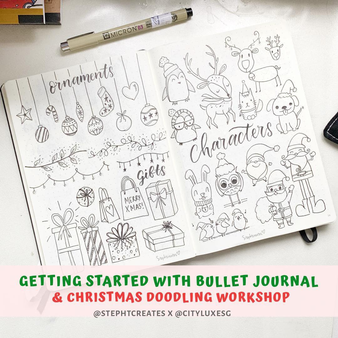 Christmas-Special Workshop: Getting Started with Bullet Journal®️