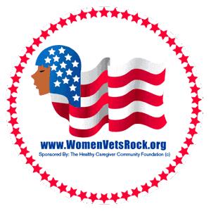 Women Veterans ROCK! Logo