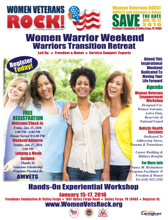Women Warrior Weekend Flyer