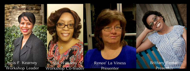 Presenters for Writers Weekend