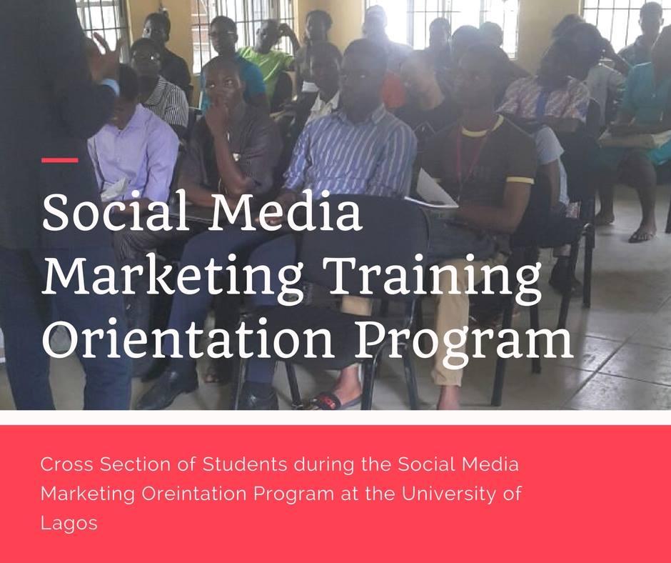 Social Media Marketing Orientation Program
