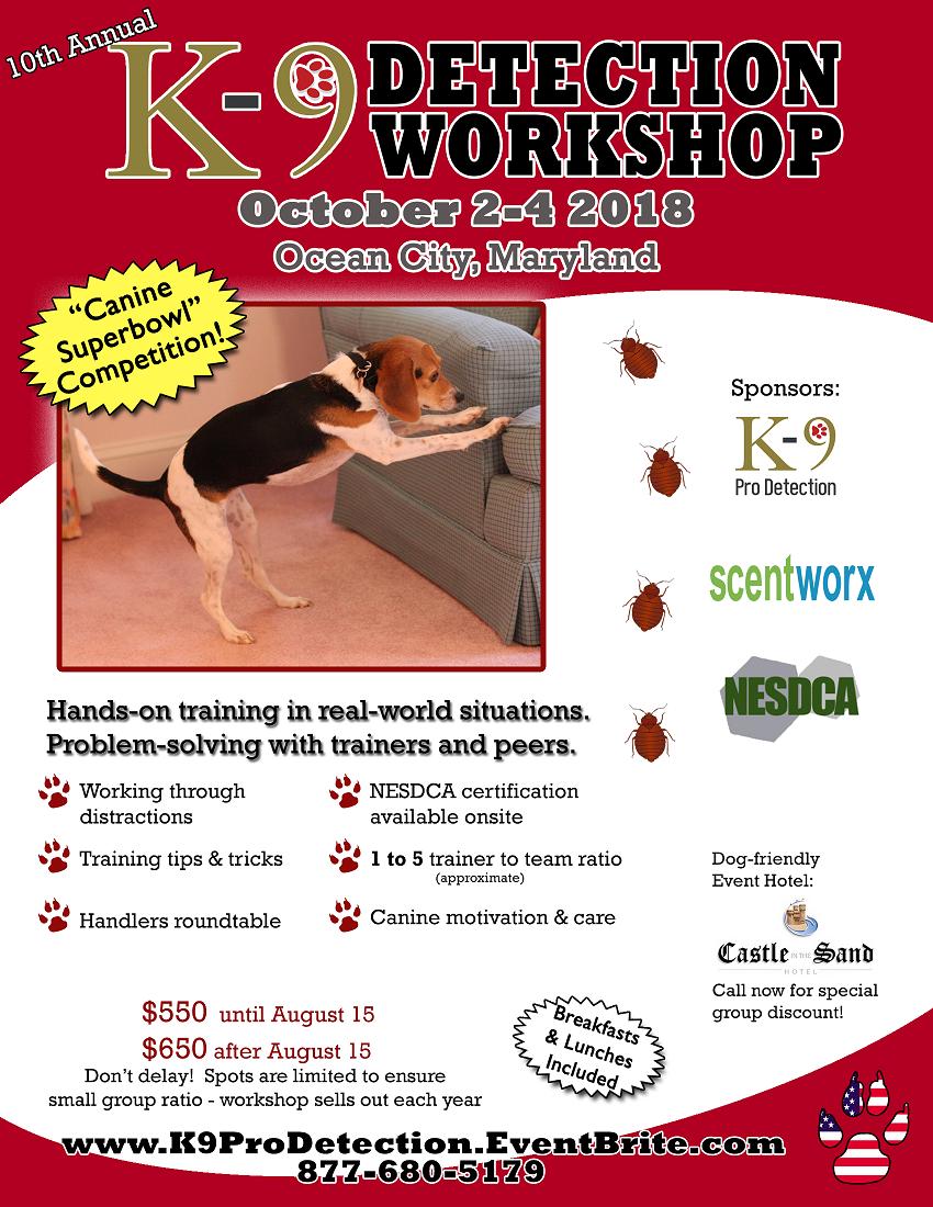 K9 Pro Detection Workshop
