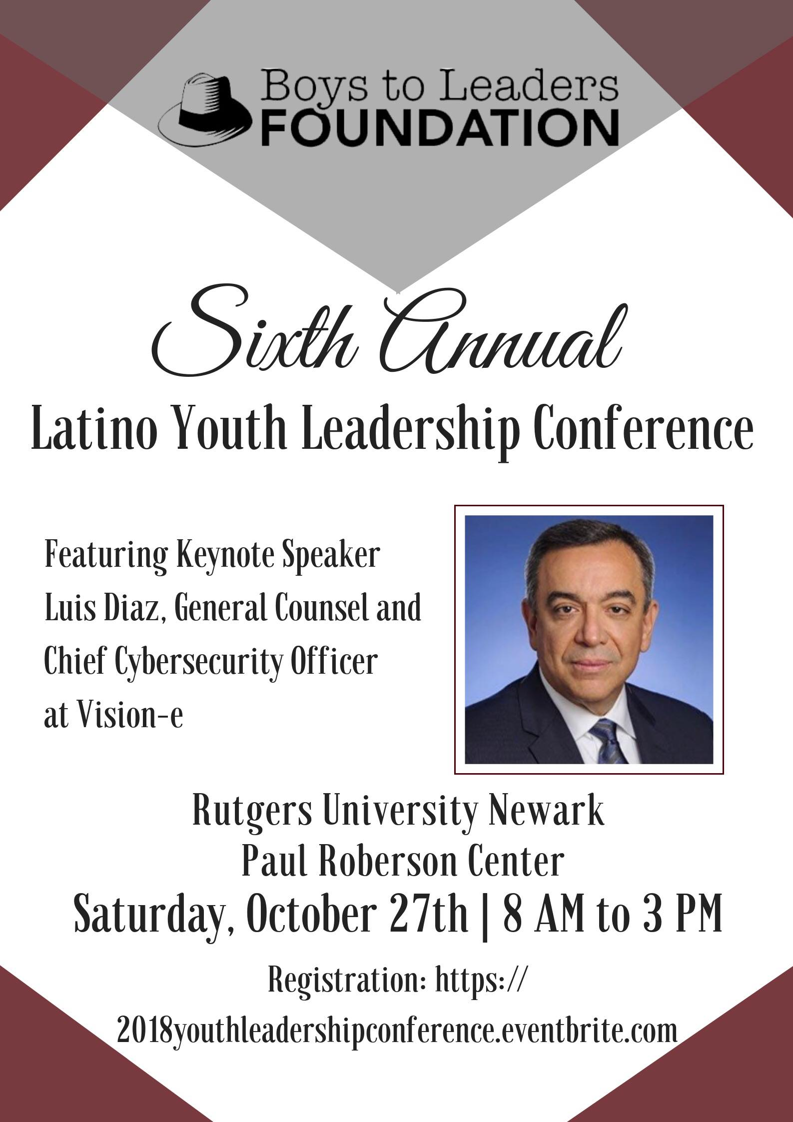 2018 Latino Youth Leadership Conference Flyer