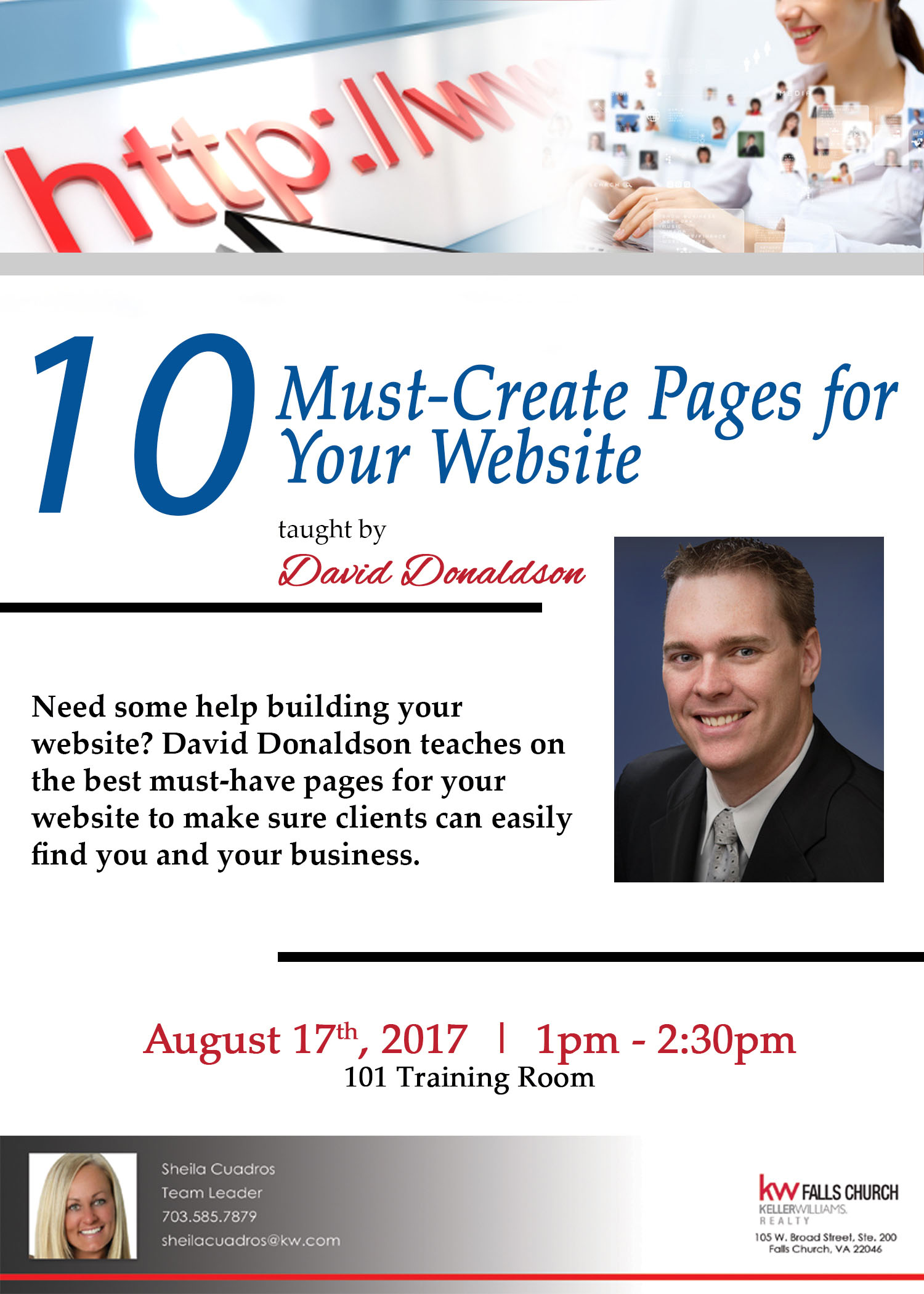 10 Must Have Pages Flyer