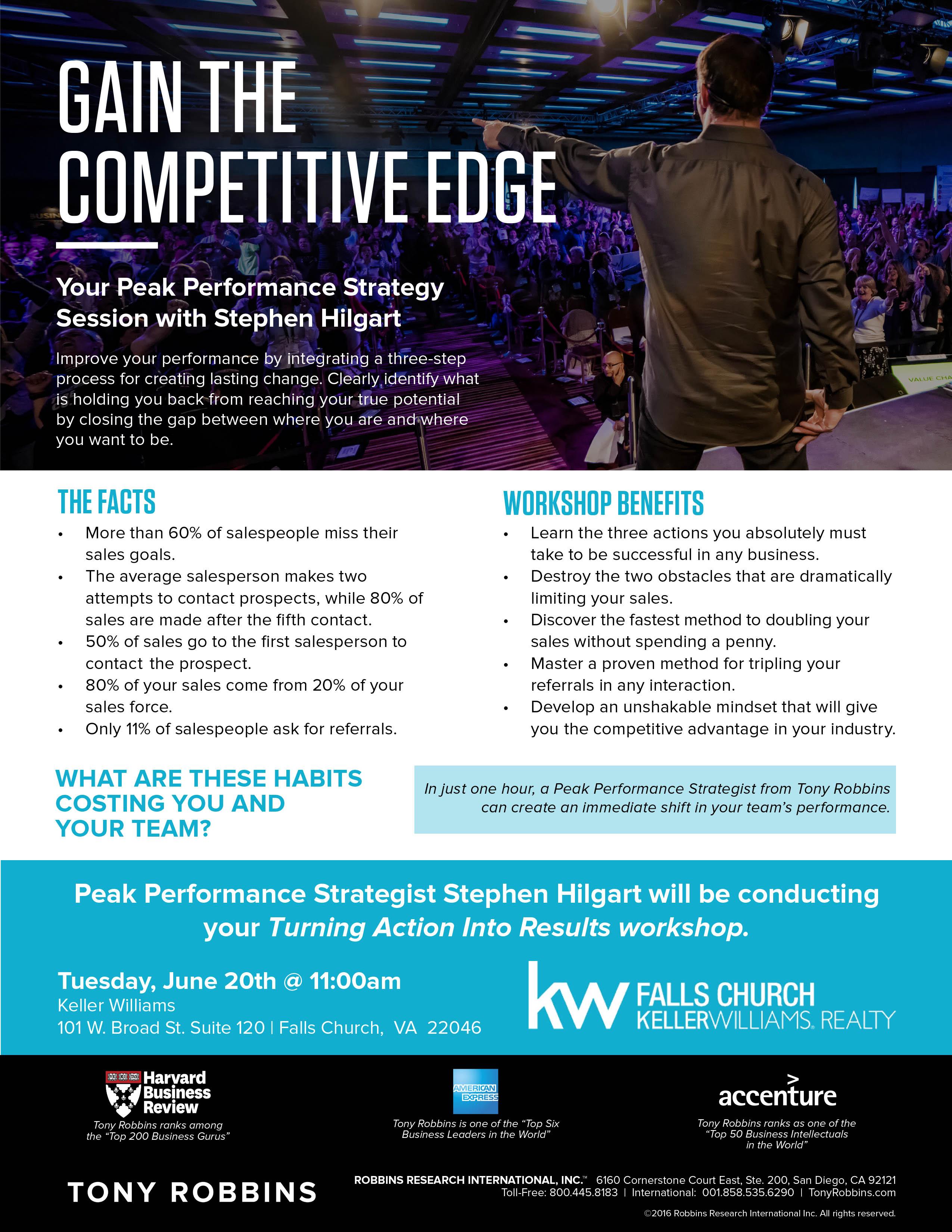 Peak Performance event