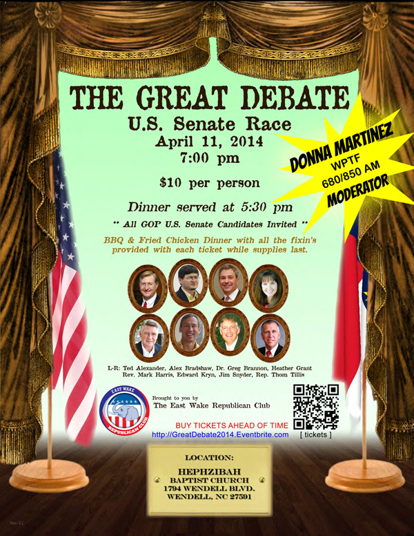 The Great Debate 2014!
