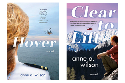 Photo of Anne Wilsons Book Covers