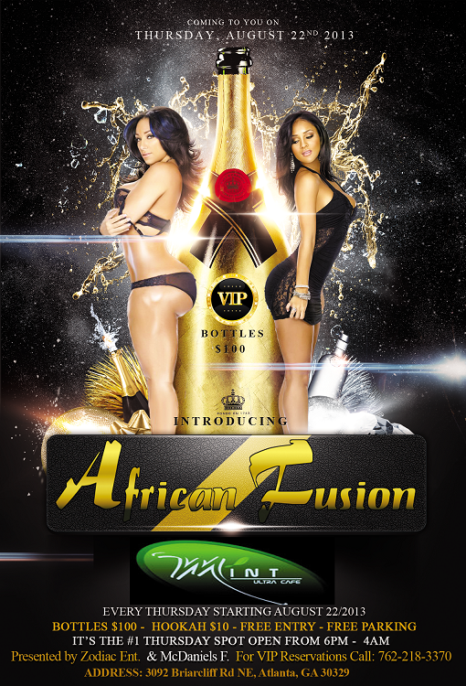 African Fusion Thursday Party