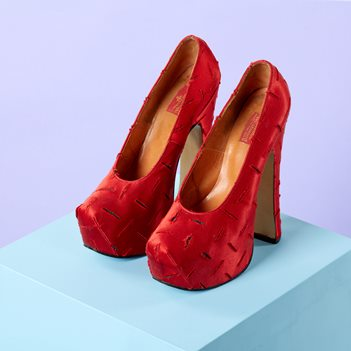 Vivienne Westwood shoes from the Harris collection