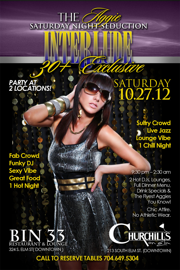 GHOE 2012- Saturday Night Interlude- 2 Parties for 1