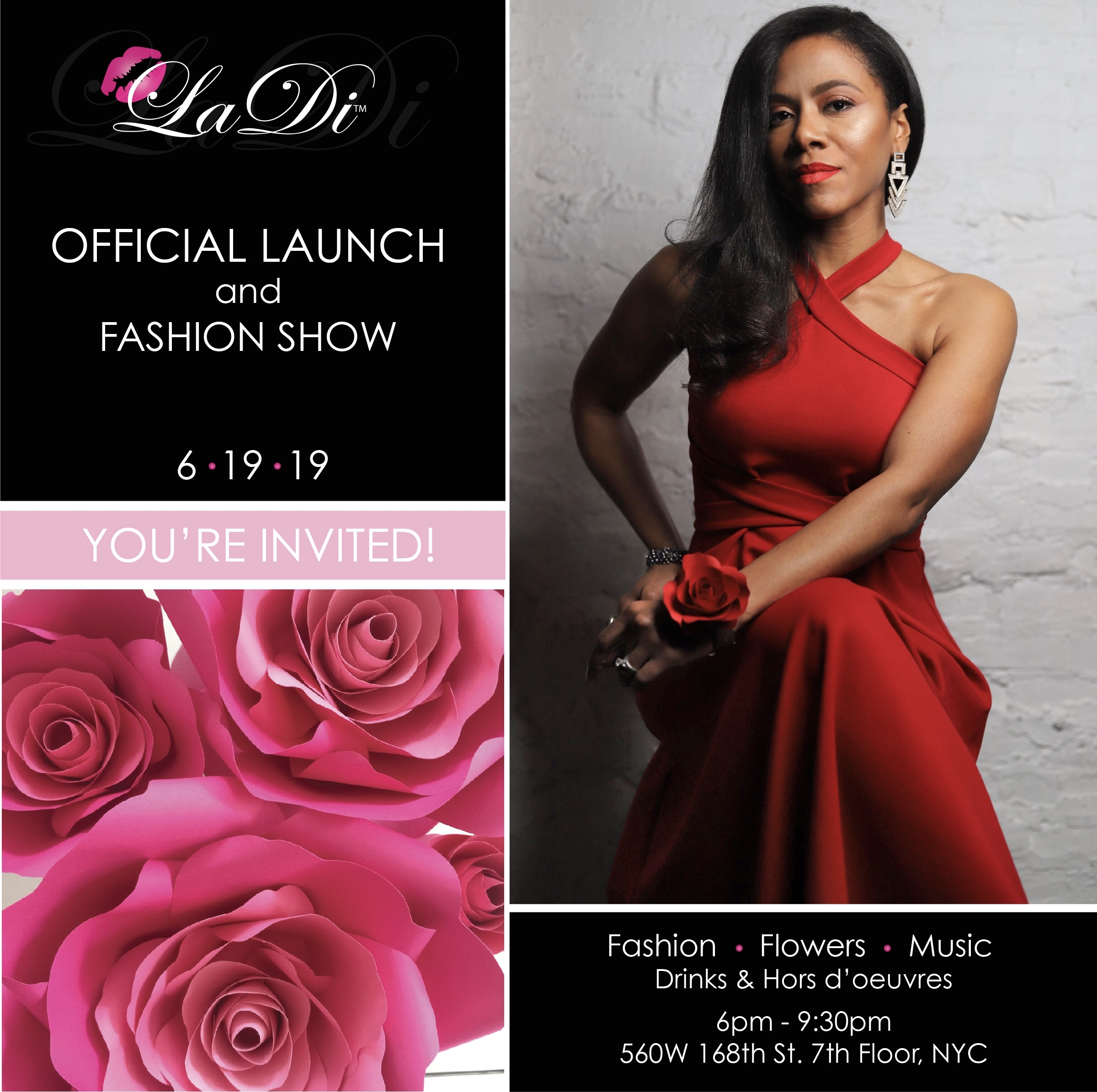 Laura Diaz-Alberto invites you to the Official Launch of LaDi