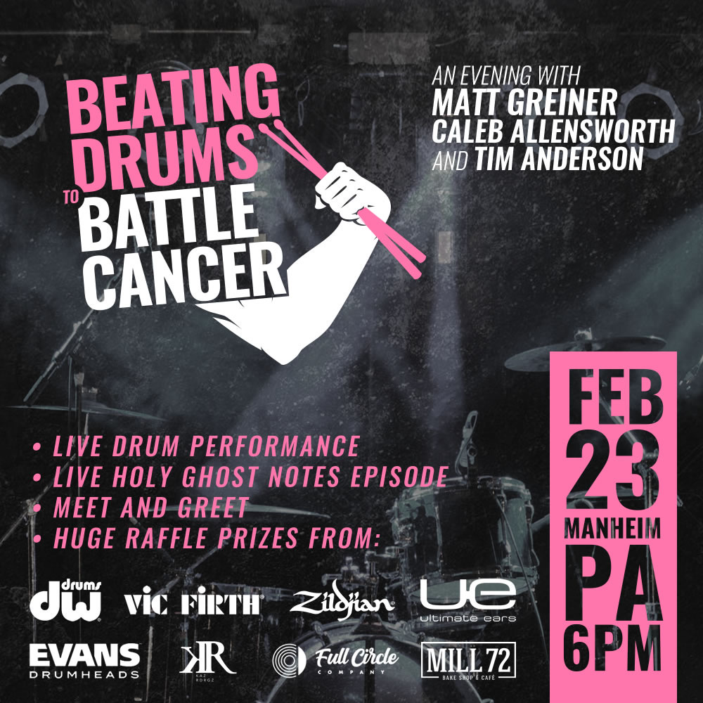 Beating Drums To Battle Cancer