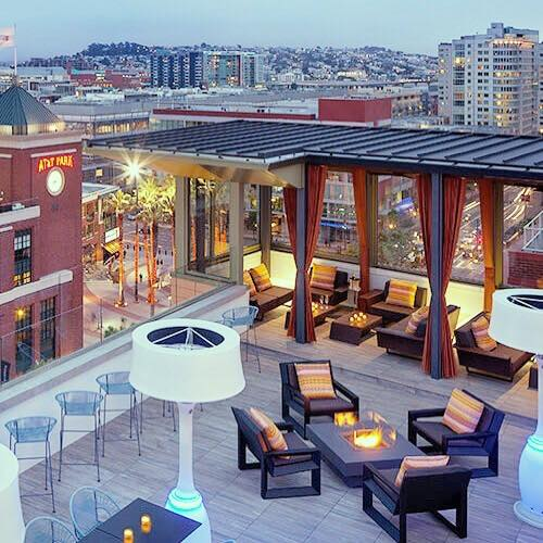 Rooftop AT&T Park