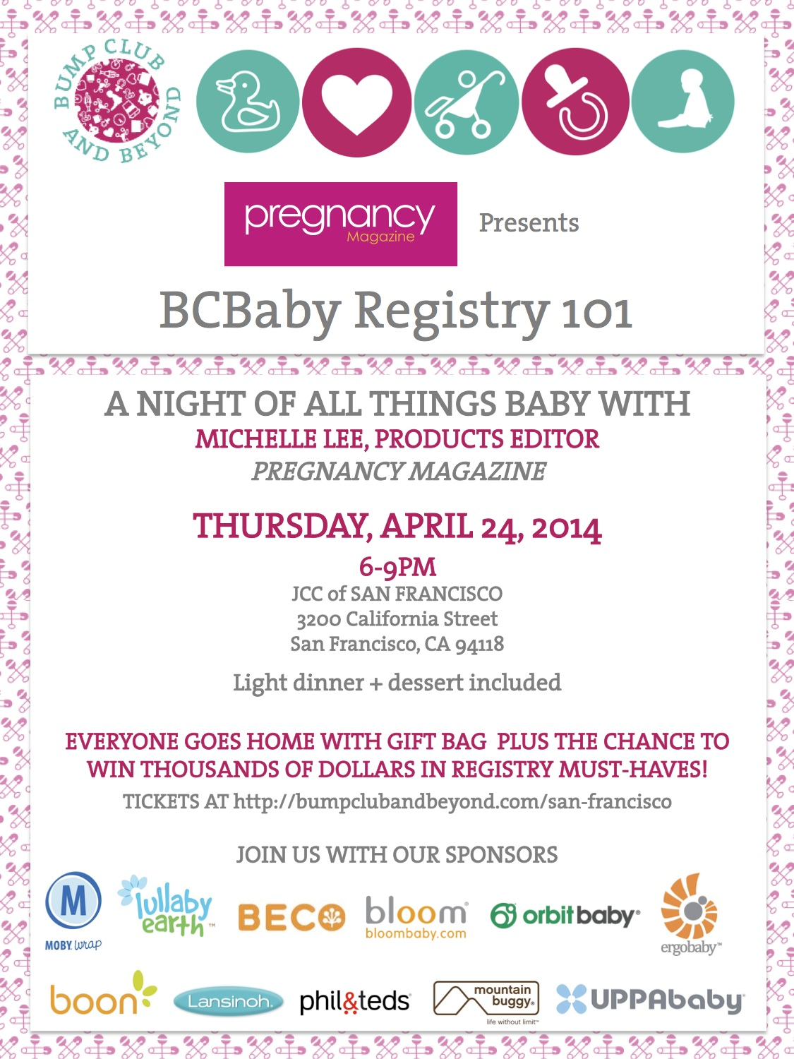 Pregnancy Magazine Invite 2014
