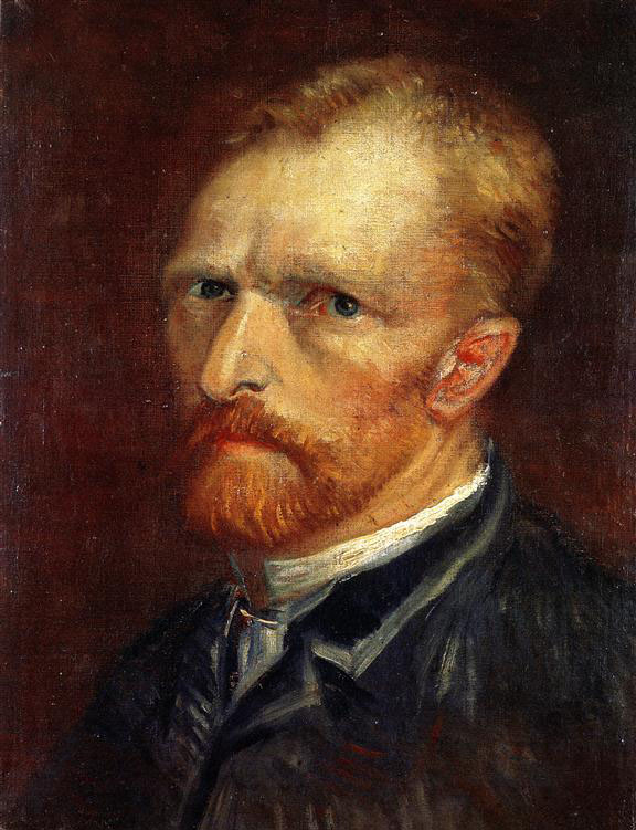 Vincent van Gogh, Self-portrait, 1886, oil on canvas, 39.5 x 29.5 cm
