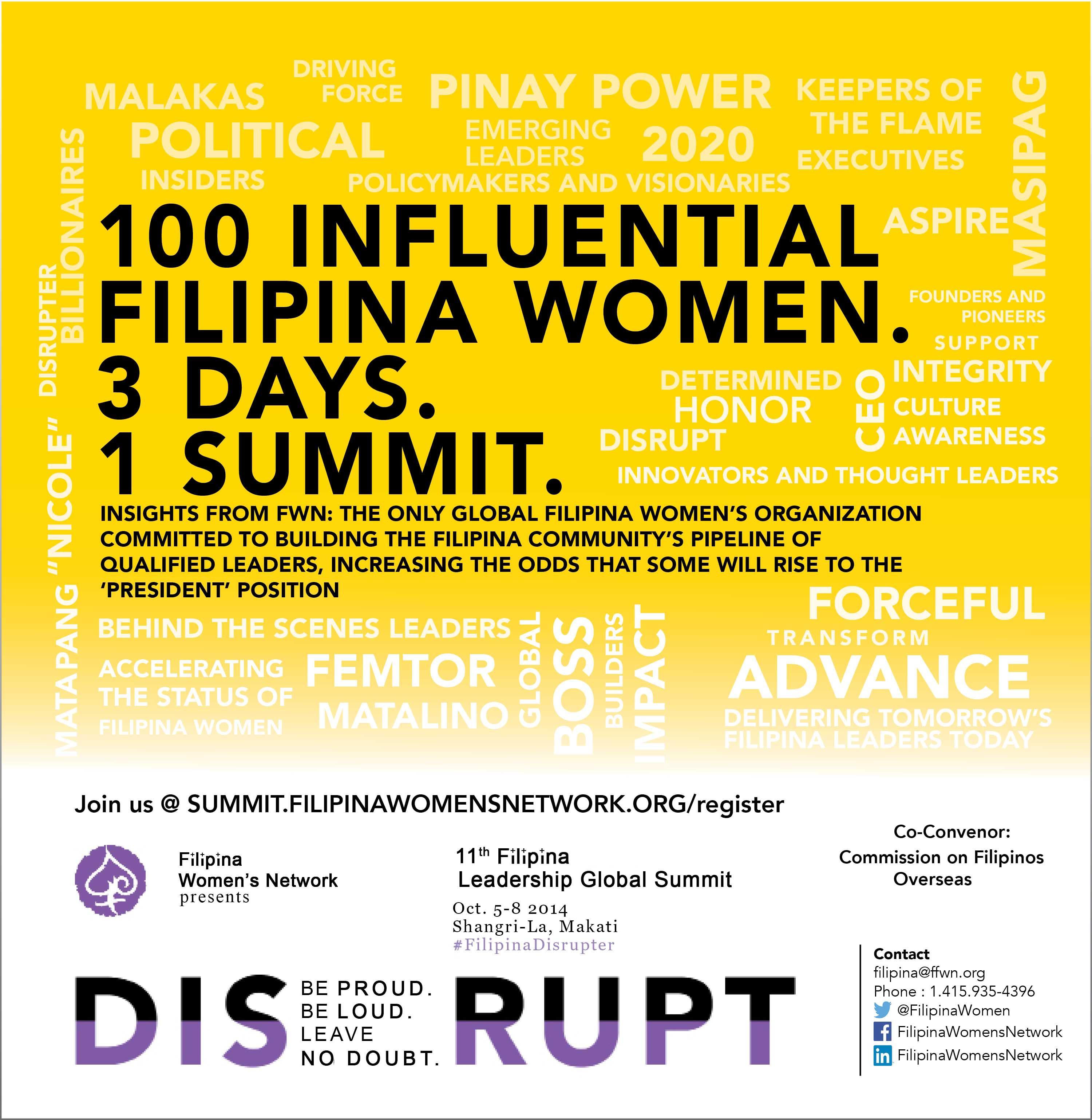 Filipina Leadership Global Summit