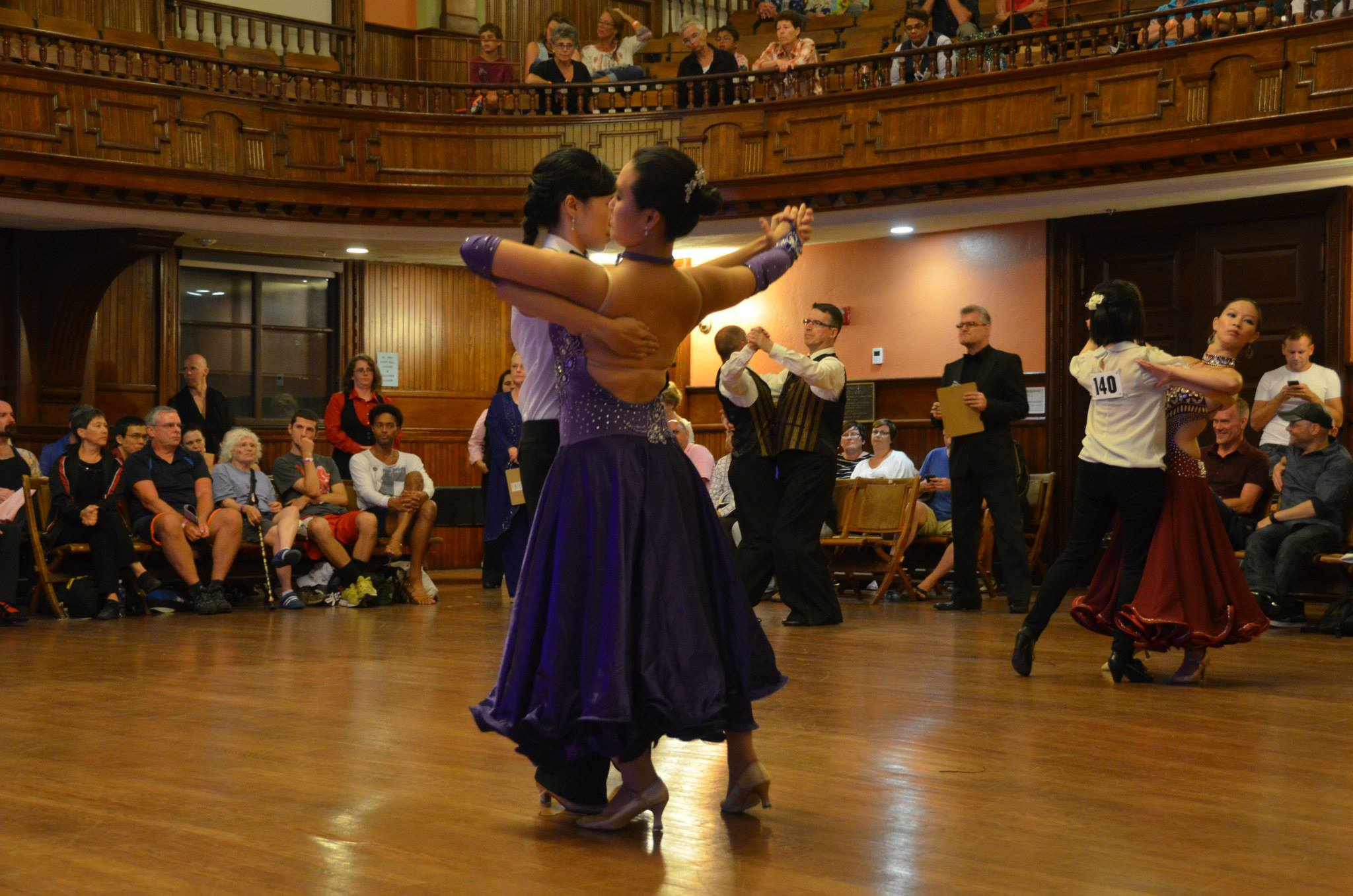 Ballroom dance competition Provincetown MA