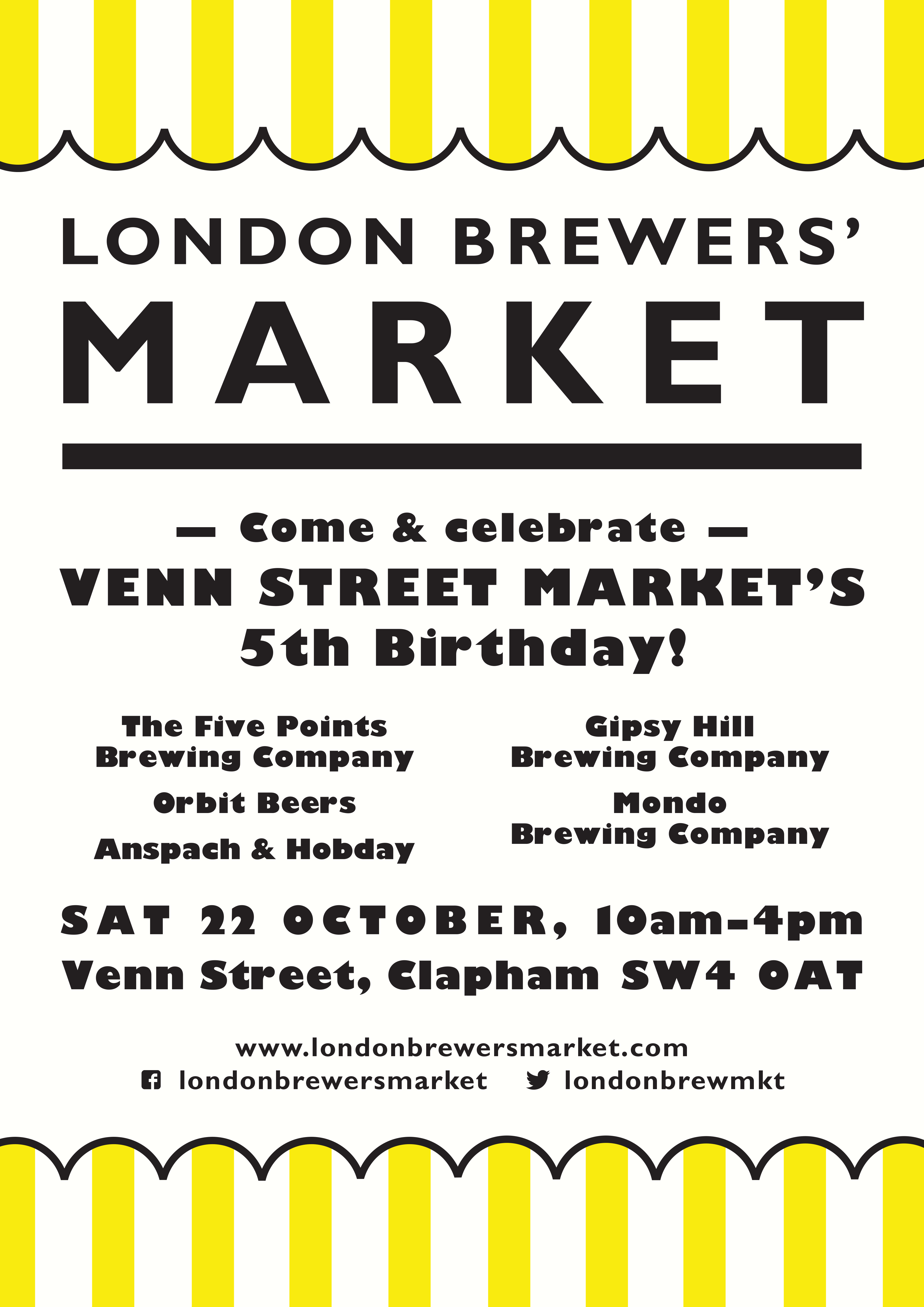 London Brewers' Market at Venn Street Market