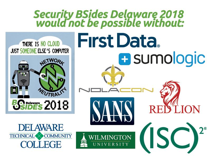 BSidesDE 2018 Sponsors