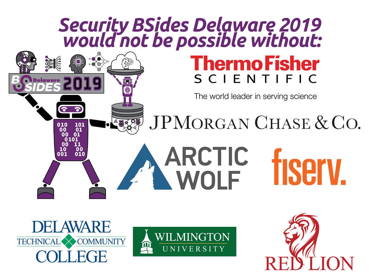 BSidesDE 2019 Sponsors