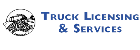 Truck Licence And Service Logo