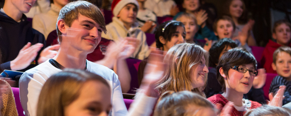 Audience at the CHRISTMAS LECTURES