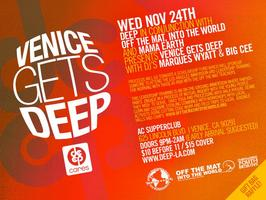 Wednesday November 24th DEEP-LA BENEFIT EVENT w MARQUES...