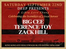 Deep - LA Libra Celebration Terence Toy, Big Cee & Zack Hill